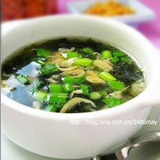 油酥虾皮紫菜汤的做法