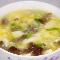 豆腐蛋羹汤