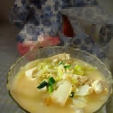虾皮白菜烩豆腐