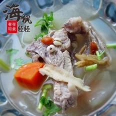 当归薏米冬瓜排骨汤