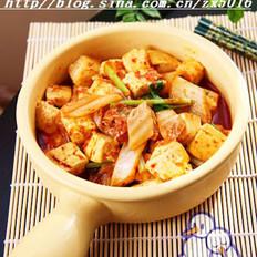 辣白菜烧豆腐