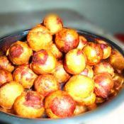 炸紫薯球的做法