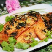 紫苏三文鱼骨