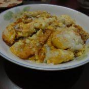 豆腐鱼煎蛋