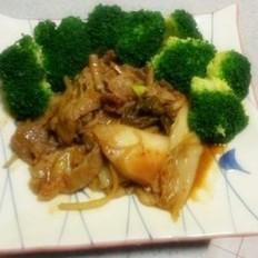 肉炒辣白菜