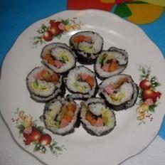 榨菜蛋饼寿司