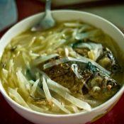 白萝卜紫苏鲫鱼汤