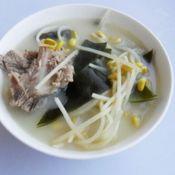 海带黄豆骨汤