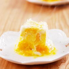 香橙香蕉蒸蛋