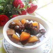 桂圆蜜枣木瓜汤