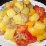 咖喱椰汁土豆