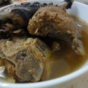 益母草竹丝鸡汤