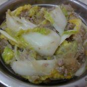 肉末粉丝大白菜