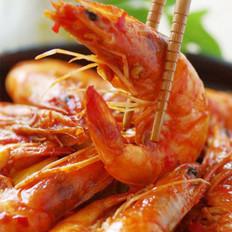 蒜蓉辣酱炒虾