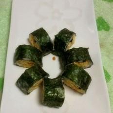 肉松紫菜包饭