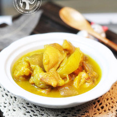 椰浆咖哩鸡