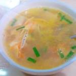 小银鱼豆丝儿汤