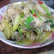 淡甲鱼焖酸菜