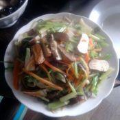 香菇炒豆腐干