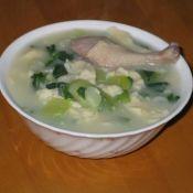 青菜疙瘩面汤