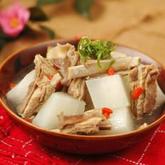 陈皮萝卜羊排汤