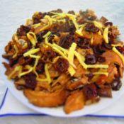 香菇粟子蒸鸡