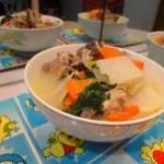 红萝卜大头菜猪骨汤