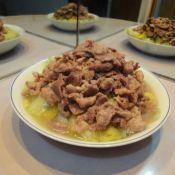 猪肉炒大白菜