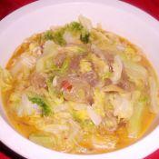 卷心菜炖粉条