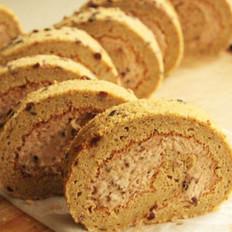红豆沙蛋糕卷