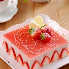 草莓凍芝士