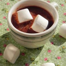 热巧克力配棉花糖