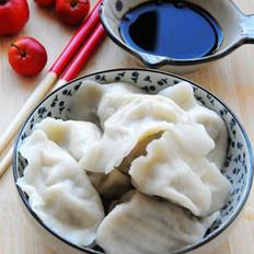芹菜白菜猪肉馅儿饺子