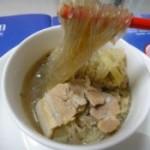 酸菜粉丝汆白肉