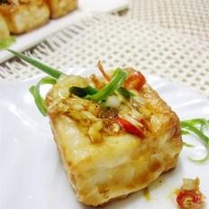 香辣浇汁豆腐