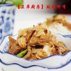 白菜油豆腐