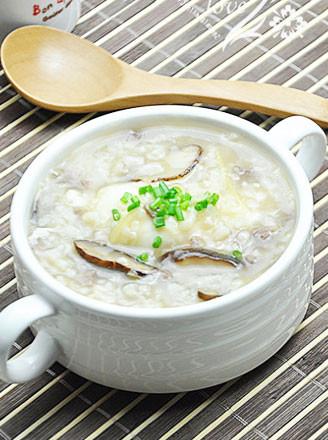 香菇生滚牛肉窝蛋粥的做法