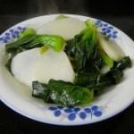 蒜味山药炒青菜