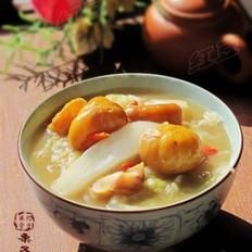 栗子燴白菜的做法大全