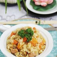 咖喱鸡肉胡萝卜饭