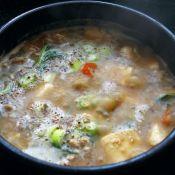 脂渣豆腐汤