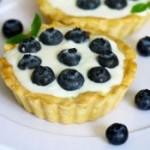 乳酪酸奶蓝莓塔