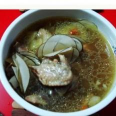 海底椰鸡汤