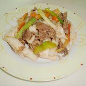 牛肉炒果条