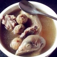 无花果川贝鹧鸪汤
