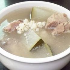 冬瓜薏米煲猪骨