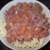 番茄肉酱螺丝粉