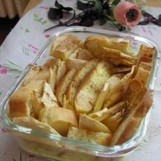 苹果面包布丁
