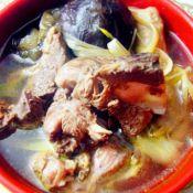 香菇黄花菜炖鸭肉