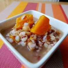 红米番薯小麦粥